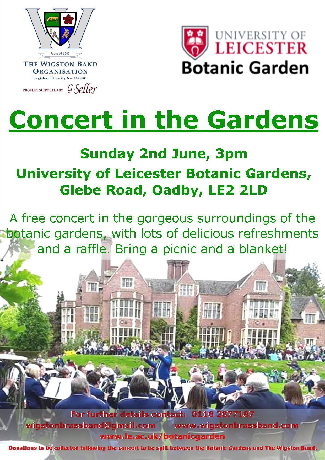 botanic gardens concert 2019